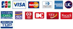 クレジットカードロゴマーク
