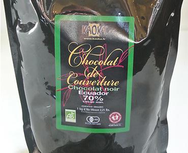 フランスカオカ社のショコラ