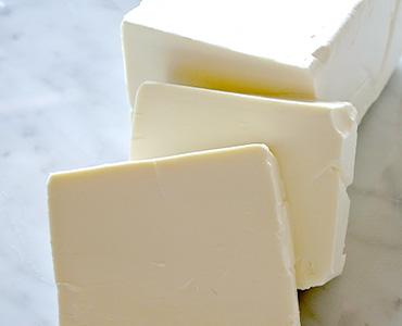 たっぷりのクリームチーズ
